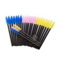Mascara - Wimperborsteltjes 'Tricolore'