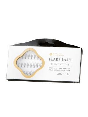 Point Accent Flare Lashes