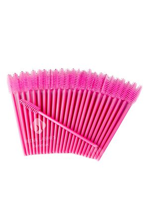 Mascara - Wimperborsteltjes Roze