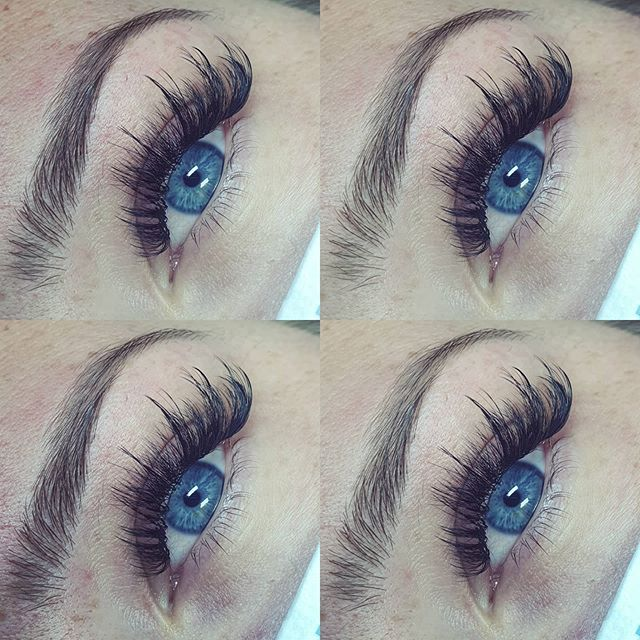 Wimperextensions wispy